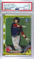 Michael Chavis [PSA 10 GEM MT] #/75