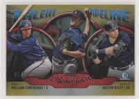 Austin Riley, Ian Anderson, William Contreras /50