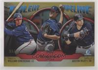 William Contreras, Ian Anderson, Austin Riley #/50