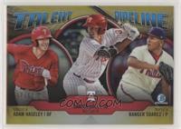 Adam Haseley, Darick Hall, Ranger Suarez #/50