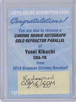 Yusei Kikuchi [BeingRedeemed] #/50