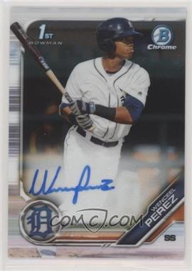 2019 Bowman Chrome - Prospects Autographs #CPA-WP - Wenceel Perez