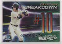 Hunter Bishop #/99