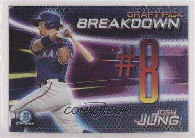 2019 Bowman Draft - Chrome Bowman Scouts Draft Pick Breakdown #BSB-JJ - Josh Jung