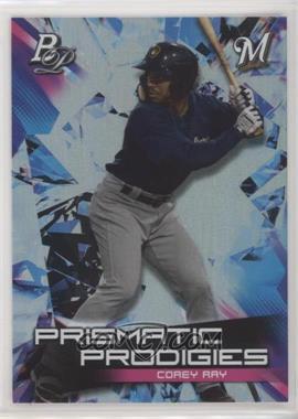 2019 Bowman Platinum - Wal-Mart Prismatic Prodigies #PPP-16 - Corey Ray