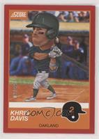 Khris Davis #/99