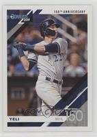 Variation - Christian Yelich (Grey Jersey,