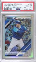 Variation - Anthony Rizzo [PSA 10 GEM MT] #/484