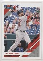 Base - J.D. Martinez (Grey Jersey) [EX to NM]