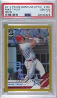 All-Stars - Mike Trout [PSA 10 GEM MT] #/10