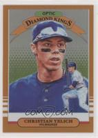 Diamond Kings - Christian Yelich [EX to NM] #/99