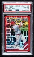 All-Stars - Mike Trout [PSA10GEMMT] #/99