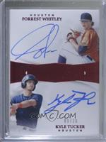 Forrest Whitley, Kyle Tucker [EX to NM] #/20
