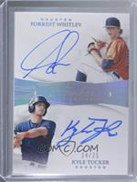 Forrest Whitley, Kyle Tucker #/25