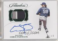 Chris Paddack #/5