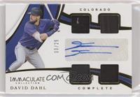 David Dahl #/25