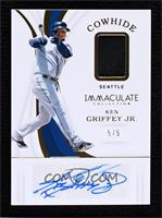 Ken Griffey Jr. [Noted] #/5