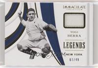 Yogi Berra #/49