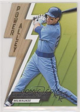 2019 Panini Leather & Lumber - Power Alley #PA-3 - Christian Yelich