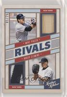 Mike Piazza, Roger Clemens #/25