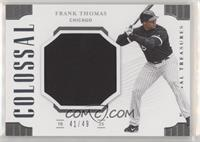 Frank Thomas #/49