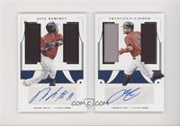 Francisco Lindor, Jose Ramirez #/49