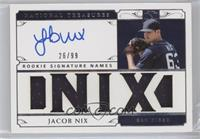 Jacob Nix #/99