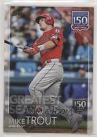 Greatest Seasons - Mike Trout /150