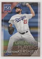 Greatest Players - Clayton Kershaw [EX to NM]