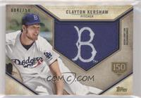 Clayton Kershaw /150