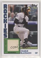 Charlie Blackmon [EX to NM]
