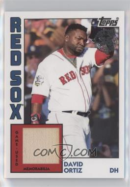 2019 Topps - 1984 Topps Baseball Relics Series 2 #84R-DO - David Ortiz