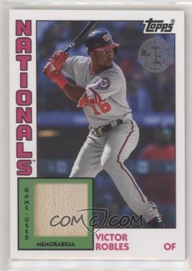 2019 Topps - 1984 Topps Baseball Relics Series 2 #84R-VR - Victor Robles