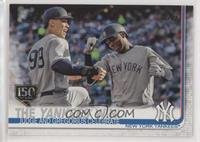 Checklist - The Yankees Win! (Judge and Gregorius Celebrate)