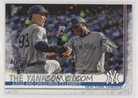 The Yankees Win! (Judge and Gregorius Celebrate)