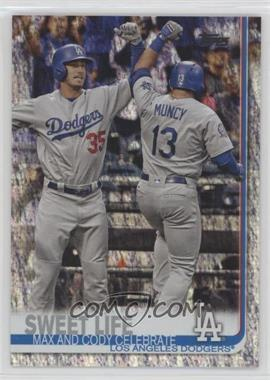 2019 Topps - [Base] - Factory Set Foilboard #202 - Sweet Life (Max and Cody Celebrate) /162