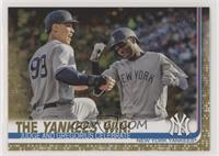 Checklist - The Yankees Win! (Judge and Gregorius Celebrate) /2019