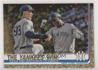 Checklist - The Yankees Win! (Judge and Gregorius Celebrate) #/2,019