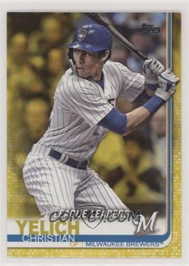 2019 Topps - [Base] - Walgreens Yellow #239 - League Leaders - Christian Yelich