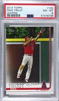 Mike Trout (Leaping Catch) [PSA8NM‑MT]