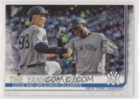 Checklist - The Yankees Win! (Judge and Gregorius Celebrate) [EX to N…