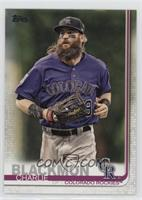 Base - Charlie Blackmon (Purple Jersey)