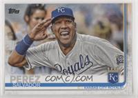 SP Variation - Salvador Perez (Saluting)