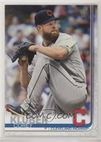 Base - Corey Kluber (Grey Jersey)