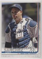 SP Photo Variation - Gary Sanchez (Wearing Chest Pad)
