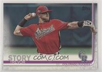 SP Photo Variation - Trevor Story (Red All-Star Jersey)
