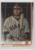 SP Variation - Brandon Crawford (In Dugout with Bat)