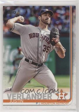 2019 Topps - [Base] #57.1 - Base - Justin Verlander (Pitching)