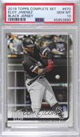 Complete Set Variation - Eloy Jimenez [PSA 10 GEM MT]