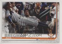 SP Photo Variation - Alex Bregman (Surrounded in Dugout)